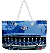 1953 Desoto Firedome Convertible Grille Emblem Weekender Tote Bag