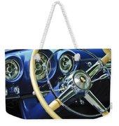 1953 Desoto Firedome Convertible Steering Wheel Emblem Weekender Tote Bag