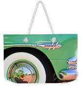 1953 Hudson Hornet Sedan Wheel Emblem Weekender Tote Bag