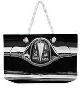 1953 Hudson Twin Hornet Grille Emblem Weekender Tote Bag