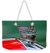 1953 Morgan Plus 4 Le Mans Tt Special Hood Ornament Weekender Tote Bag by Jill Reger