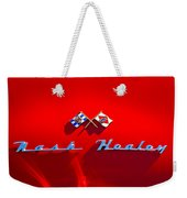 1953 Nash-healey Roadster Emblem Weekender Tote Bag