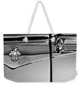 1953 Packard Caribbean Convertible Emblemblem Weekender Tote Bag