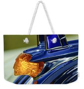 1953 Pontiac Hood Ornament 3 Weekender Tote Bag by Jill Reger