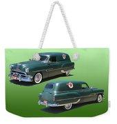 1953 Pontiac Panel Delivery Weekender Tote Bag
