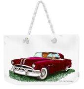 1953 Pontiac Parisienne Concept Weekender Tote Bag by Jack Pumphrey