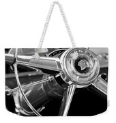 1953 Pontiac Steering Wheel 2 Weekender Tote Bag