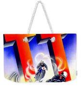 1954 - Assen Tt Motorcycle Poster - Color Weekender Tote Bag