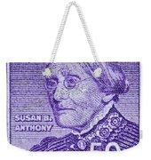 1954-1961 Susan B. Anthony Stamp Weekender Tote Bag