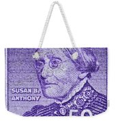 1954-1961 Susan B. Anthony Stamp Weekender Tote Bag