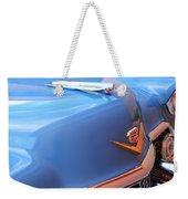 1954 Cadillac Coupe Deville Wheel Emblem - Hood Ornament Weekender Tote Bag