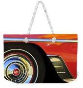 1954 Chevrolet Convertible Wheel Weekender Tote Bag