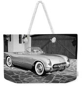 1954 Chevrolet Corvette -203bw Weekender Tote Bag