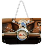 1954 Chevrolet Corvette Convertible  Steering Wheel Weekender Tote Bag by Jill Reger