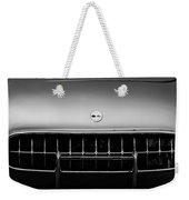 1954 Chevrolet Corvette Grille Emblem -249bw Weekender Tote Bag