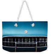 1954 Chevrolet Corvette Grille Emblem -249c Weekender Tote Bag