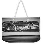 1954 Chevrolet Corvette Steering Wheel -139bw Weekender Tote Bag