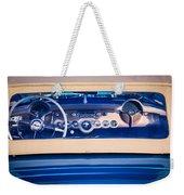 1954 Chevrolet Corvette Steering Wheel -139c Weekender Tote Bag