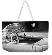 1954 Chevrolet Corvette Steering Wheel -407bw Weekender Tote Bag