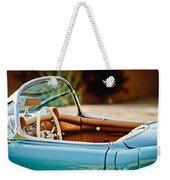 1954 Chevrolet Corvette Steering Wheel -407c Weekender Tote Bag
