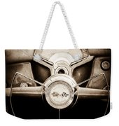 1954 Chevrolet Corvette Steering Wheel Emblem Weekender Tote Bag