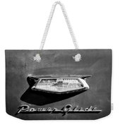 1954 Chevrolet Power Glide Emblem Weekender Tote Bag by Jill Reger