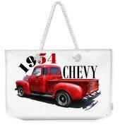1954 Chevy Weekender Tote Bag