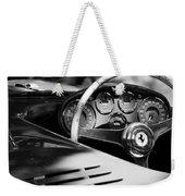 1954 Ferrari 500 Mondial Spyder Steering Wheel Emblem Weekender Tote Bag