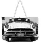 1954 Hudson Hornet In Black Weekender Tote Bag