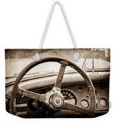 1954 Jaguar Xk120 Roadster Steering Wheel Emblem Weekender Tote Bag