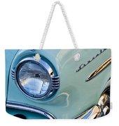 1954 Lincoln Capri Headlight Weekender Tote Bag