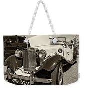 1954 Mg Td Sepia Weekender Tote Bag