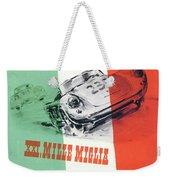 1954 Xxi Mille Miglia Weekender Tote Bag