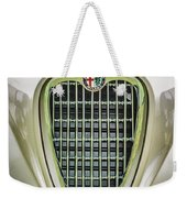 1955 Alfa Romeo 1900 Css Ghia Aigle Cabriolet Grille Emblem -0564c Weekender Tote Bag