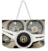 1955 Alfa-romeo 1900 Css Ghia Aigle Cabriolet Steering Wheel -2254 Weekender Tote Bag