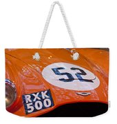 1955 Aston Martin Db3s Sports Racing Car Hood 2 Weekender Tote Bag