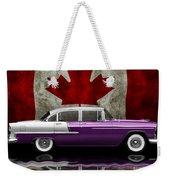 1955 Bel Air Patriot Weekender Tote Bag