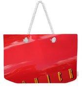 1955 Buick Roadmaster Hood Ornament - Emblem Weekender Tote Bag