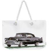 1955 Cadillac Series 62 Convertible Weekender Tote Bag
