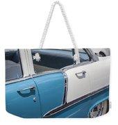 1955 Chevrolet 4 Door Weekender Tote Bag