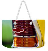 1955 Chevrolet Taillight Emblem Weekender Tote Bag