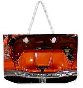 1955 Chevrolet Truck-american Classics-front View Weekender Tote Bag