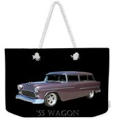 1955 Chevy Handyman Wagon Weekender Tote Bag