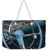 1955 Chevy Nomad Steering Wheel Weekender Tote Bag