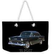 1955 Chevy Post Weekender Tote Bag