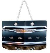 1956 Desoto Hood Ornament 2 Weekender Tote Bag