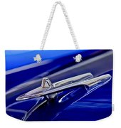 1955 Desoto Hood Ornament 3 Weekender Tote Bag
