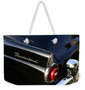 1955 Ford Thunderbird Weekender Tote Bag