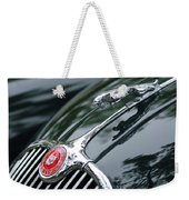 Jaguar Xk 150 Hood Ornament  Weekender Tote Bag