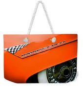 1955 Lincoln Indianapolis Boano Coupe Emblem -0295c Weekender Tote Bag